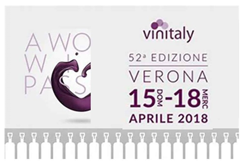 CONTRI SPUMANTI always exhibiting at VINITALY  Verona between 15th-18th April 2018