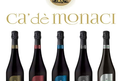 Ca' De Monaci: a new selection of excellent DOC Lambrusco in a smart packaging