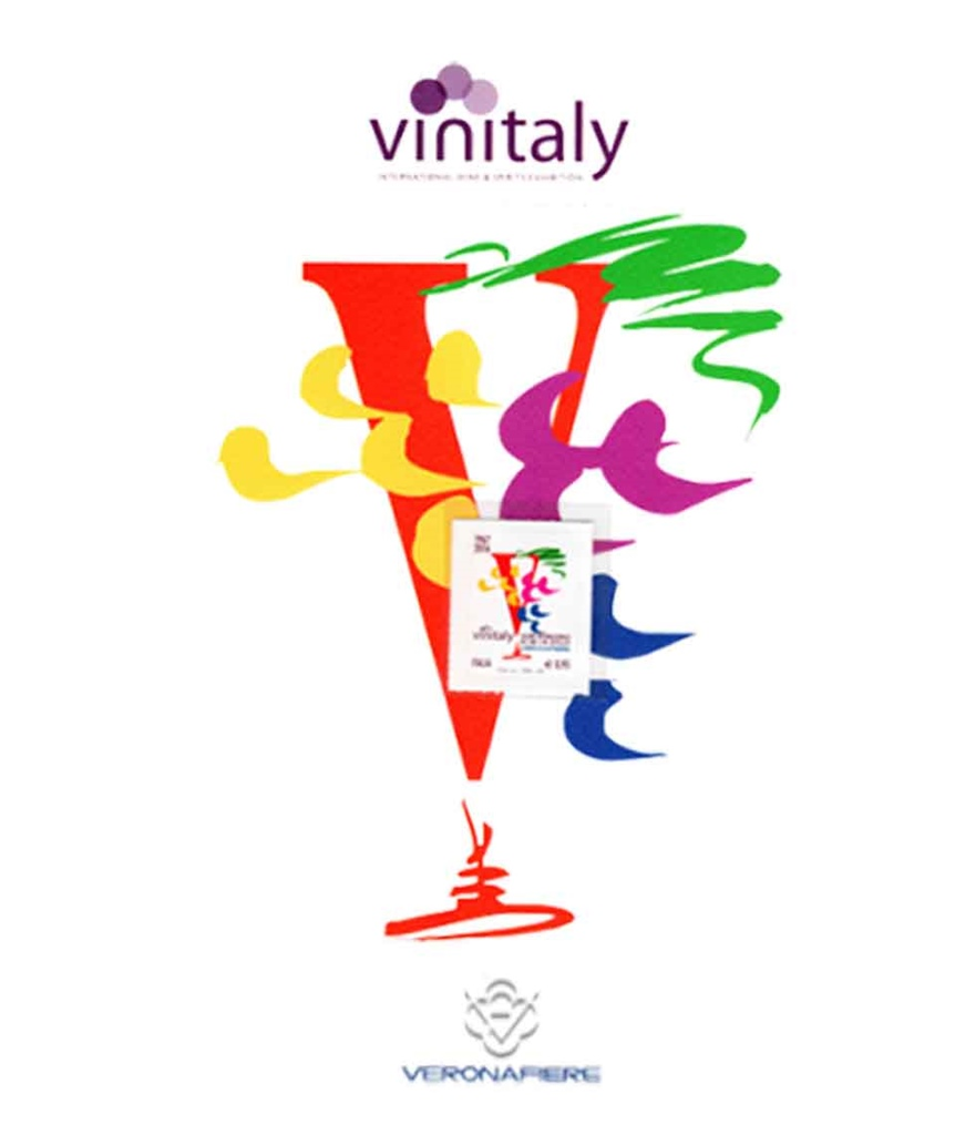 Special recognisement at Vinitaly: recognisment for the 35 years long partecipation