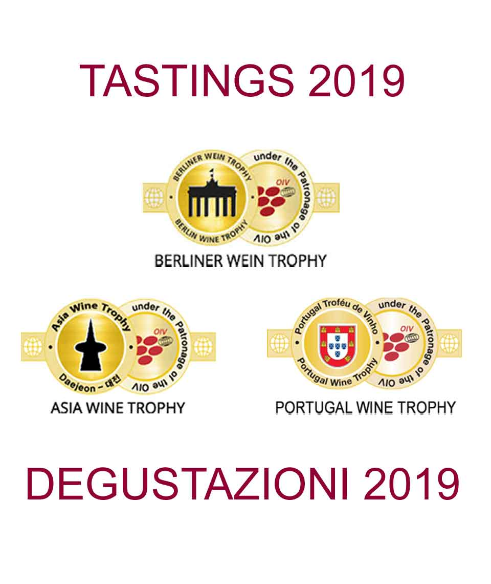 ALL THE RESULTS OF THE TASTINGS OF BERLINER WEIN TROPHY, ASIA WINE TROPHY AND PORTUGAL WINE TROPHY IN 2019